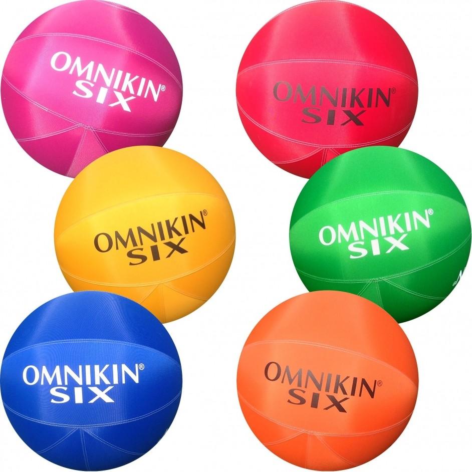Omnikin Set van 6 Six Balls