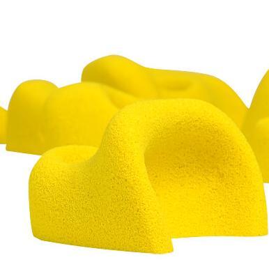 Klimgreep geel